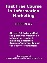 Learn how to get started in information marketing