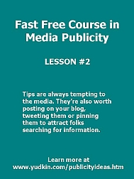 Learn the basics of getting media coverage