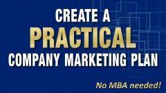 Create an annual marketing plan, no MBA needed